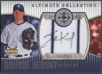 2008 Ultimate Collection #104 Ian Kennedy Rookie Jersey Auto #21/99