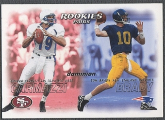2000 SkyBox Dominion #234 Tom Brady Rookie