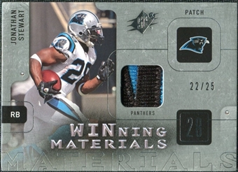 2009 Upper Deck SPx Winning Materials Patch Platinum #WJS Jonathan Stewart /25