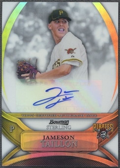 2010 Bowman Sterling Prospect #JT Jameson Taillon Refractor Auto #024/199