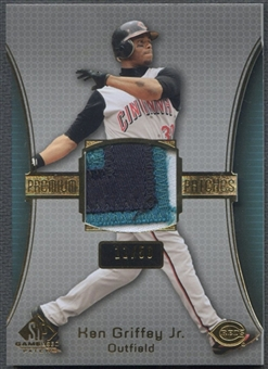 2004 SP Game Used Patch #KG Ken Griffey Jr. Premium Patch Arm Out #11/50