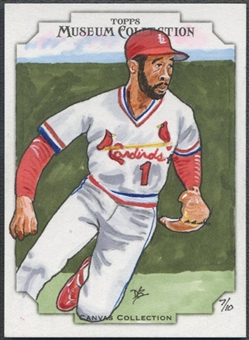 2012 Topps Museum Collection #CC29 Ozzie Smith Canvas Collection Originals #07/10