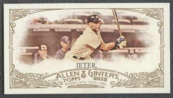 2012 Topps Allen and Ginter #274 Derek Jeter Mini No Card Number