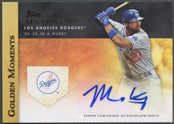 2012 Topps #MK Matt Kemp Golden Moments Auto