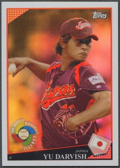 2009 Topps #7 Yu Darvish World Baseball Classic Rising Star Redemption