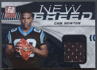 2011 Donruss Elite #7 Cam Newton New Breed Rookie Jersey