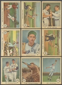 1959 Fleer Baseball Ted Williams Near Complete Set (66/80) (VG-EX)