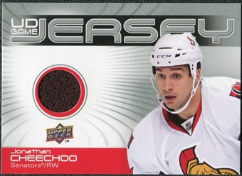 2010/11 Upper Deck Game Jerseys #GJCH Jonathan Cheechoo