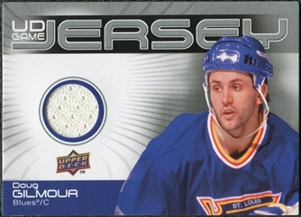 2010/11 Upper Deck Game Jerseys #GJDG Doug Gilmour