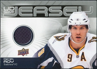2010/11 Upper Deck Game Jerseys #GJDR Derek Roy