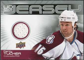 2010/11 Upper Deck Game Jerseys #GJDT Darcy Tucker