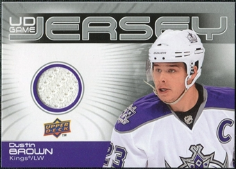 2010/11 Upper Deck Game Jerseys #GJDU Dustin Brown