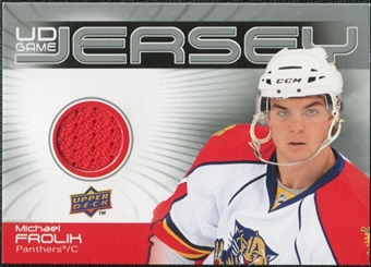 2010/11 Upper Deck Game Jerseys #GJFR Michael Frolik