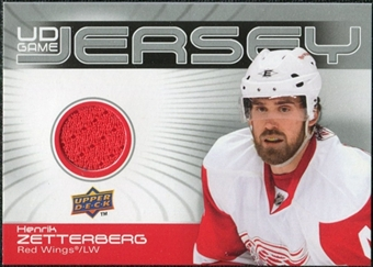 2010/11 Upper Deck Game Jerseys #GJHZ Henrik Zetterberg