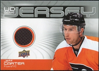 2010/11 Upper Deck Game Jerseys #GJJC Jeff Carter