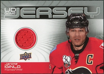 2010/11 Upper Deck Game Jerseys #GJJI Jarome Iginla