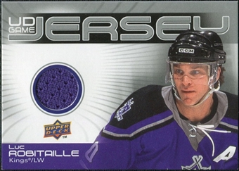 2010/11 Upper Deck Game Jerseys #GJLR Luc Robitaille