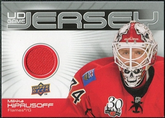 2010/11 Upper Deck Game Jerseys #GJMK Miikka Kiprusoff