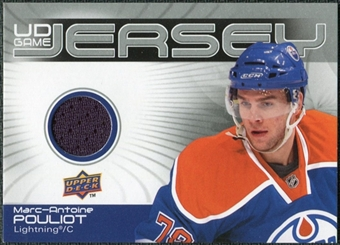 2010/11 Upper Deck Game Jerseys #GJMP Marc-Antoine Pouliot