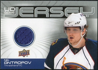 2010/11 Upper Deck Game Jerseys #GJNA Nik Antropov