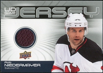 2010/11 Upper Deck Game Jerseys #GJNI Rob Niedermayer