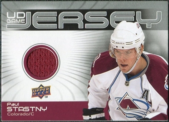 2010/11 Upper Deck Game Jerseys #GJPS Paul Stastny