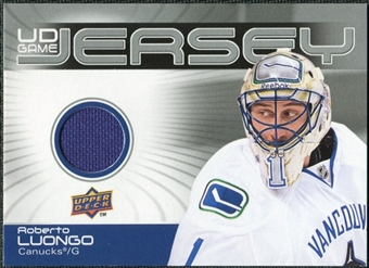 2010/11 Upper Deck Game Jerseys #GJRL Roberto Luongo