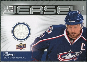 2010/11 Upper Deck Game Jerseys #GJRN Rick Nash