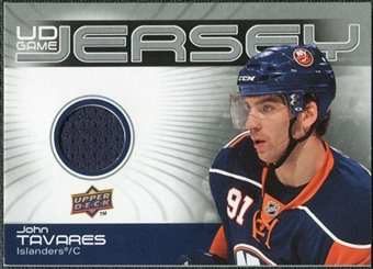 2010/11 Upper Deck Game Jerseys #GJTA John Tavares