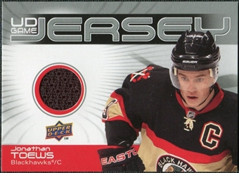 2010/11 Upper Deck Game Jerseys #GJTO Jonathan Toews