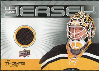2010/11 Upper Deck Game Jerseys #GJTT Tim Thomas