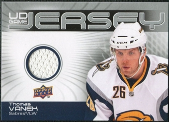 2010/11 Upper Deck Game Jerseys #GJTV Thomas Vanek