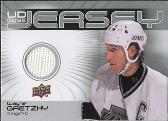 2010/11 Upper Deck Game Jerseys #GJWG Wayne Gretzky