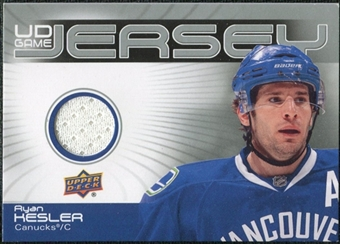 2010/11 Upper Deck Game Jerseys #GJ2RK Ryan Kesler