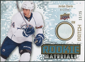 2010/11 Upper Deck Rookie Materials Patches #RMJE Jordan Eberle /25