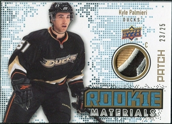 2010/11 Upper Deck Rookie Materials Patches #RMKP Kyle Palmieri /25