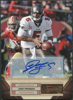 2011 Panini Timeless Treasures Autographs Gold #49 Josh Freeman Autograph 1/15