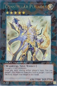 Yu-Gi-Oh Duel Terminal 7 Single Constellar Pleiades Ultra Rare