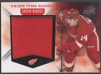 2011/12 Panini Prime #11 Gustav Nyquist Prime Time Rookies Jersey #97/99