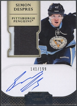 2011/12 Dominion #170 Simon Despres Rookie Patch Auto #141/199