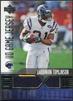 2004 Upper Deck Game Jerseys #LTGJ LaDainian Tomlinson