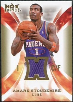 2008/09 Upper Deck Hot Prospects Hot Materials #HMAS Amare Stoudemire