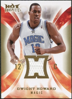 2008/09 Upper Deck Hot Prospects Hot Materials #HMDH Dwight Howard