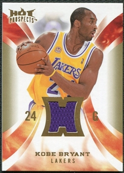 2008/09 Upper Deck Hot Prospects Hot Materials #HMKB Kobe Bryant