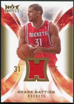 2008/09 Upper Deck Hot Prospects Hot Materials #HMSB Shane Battier