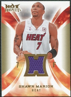 2008/09 Upper Deck Hot Prospects Hot Materials #HMSM Shawn Marion