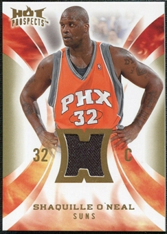 2008/09 Upper Deck Hot Prospects Hot Materials #HMSO Shaquille O'Neal