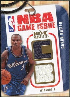 2008/09 Upper Deck Hot Prospects NBA Game Issue Jerseys #NBABU Caron Butler /149