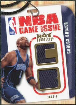2008/09 Upper Deck Hot Prospects NBA Game Issue Jerseys #NBACB Carlos Boozer /149