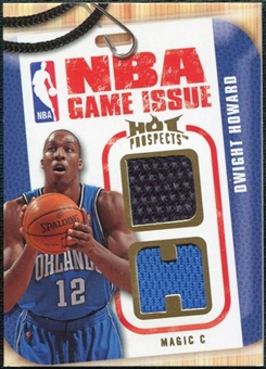 2008/09 Upper Deck Hot Prospects NBA Game Issue Jerseys #NBADH Dwight Howard /149